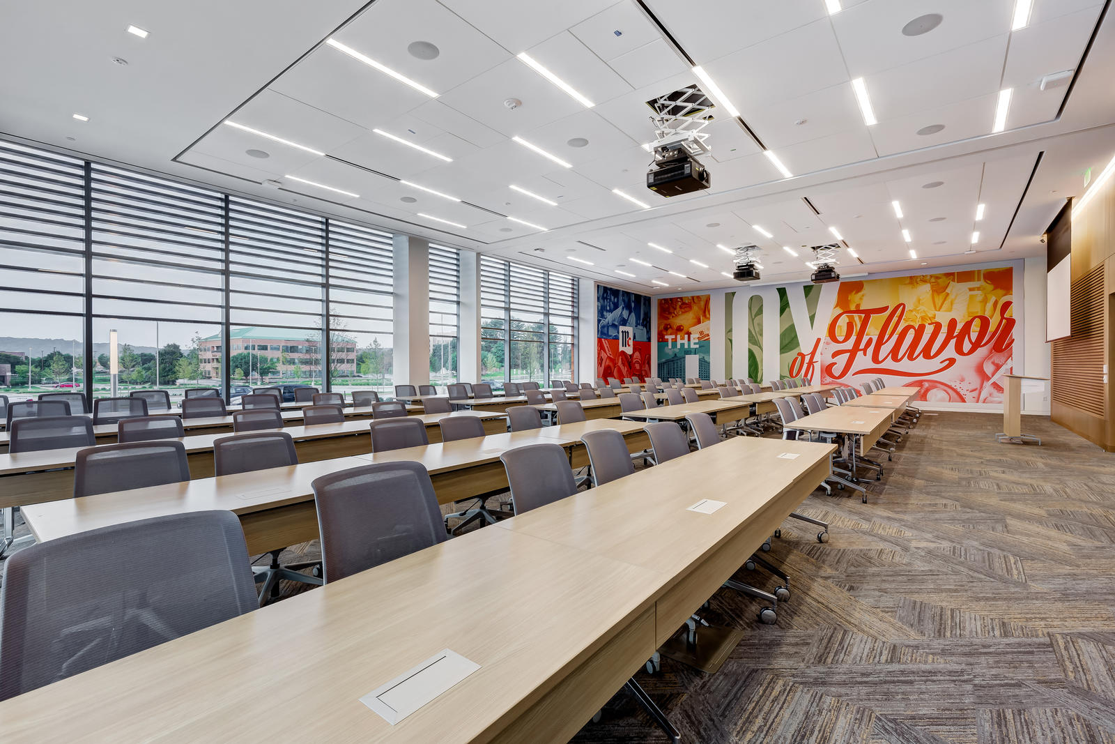 Glass Is A Key Ingredient For Mccormick Architectural