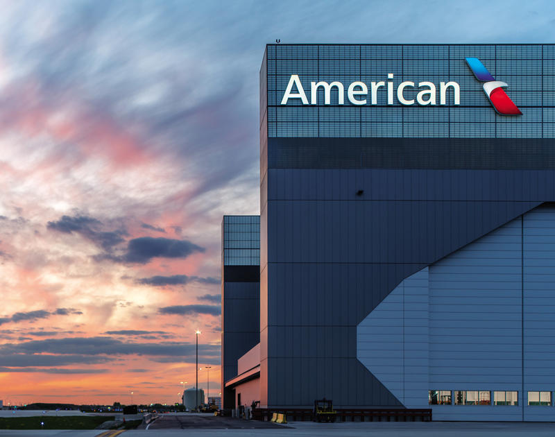 American Airlines Hangar 2 O'Hare Intl. Airport, Chicago