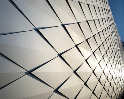 Lorin anodized aluminum panels at the U.S. Olympic and Paralympic Museum