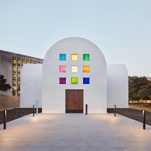 Blanton Museum of Art on the campus, Univ. of Texas