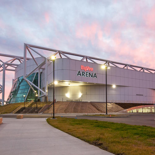 Hyvee Arena, Kansas City, Mo.