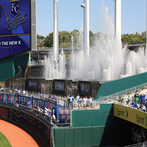 Kauffman Stadium, Kansas City, Mo.
