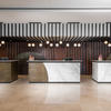 Neolith Calacatta PolishedIron Frost at the Marriott Budapest